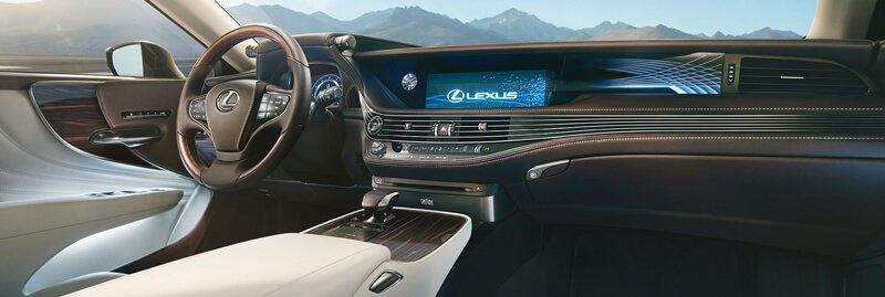 Lexus belső