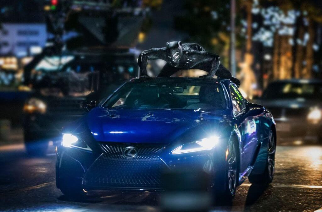 Az Oscar-díjas Fekete Párduc után az új Men in Black moziban tűnik fel a Lexus