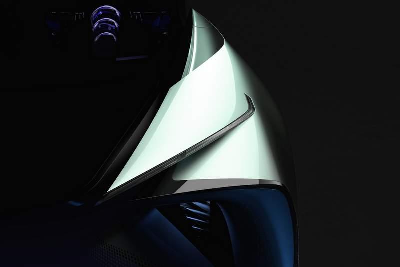 Új elektromos autót mutat be a Lexus Tokióban