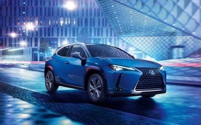 Az UX-ből készült el az első akkumulátoros elektromos Lexus