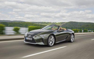 A Lexus LC Convertible lett a 2021-es év kabriója az Egyesült Királyságban